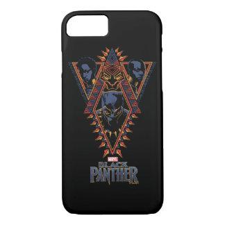 Black Panther | Wakandan Warriors Tribal Panel iPhone 8/7 Case