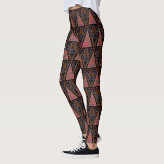 Black Panther | Wakandan Warriors Tribal Panel Leggings
