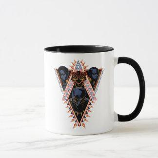 Black Panther | Wakandan Warriors Tribal Panel Mug