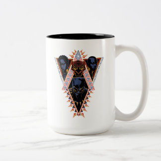 Black Panther | Wakandan Warriors Tribal Panel Two-Tone Coffee Mug