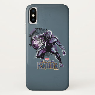 Black Panther | Warrior King Painted Graphic Case-Mate iPhone Case
