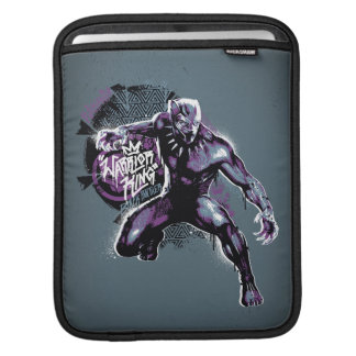 Black Panther | Warrior King Painted Graphic iPad Sleeve