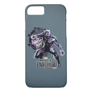 Black Panther | Warrior King Painted Graphic iPhone 8/7 Case