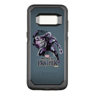 Black Panther | Warrior King Painted Graphic OtterBox Commuter Samsung Galaxy S8 Case