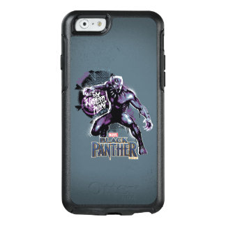 Black Panther | Warrior King Painted Graphic OtterBox iPhone 6/6s Case