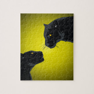 Black panthers jigsaw puzzle