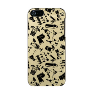 Black Pattern Cocktail Bar Incipio Feather® Shine iPhone 5 Case