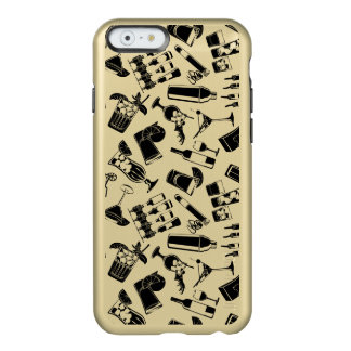 Black Pattern Cocktail Bar Incipio Feather® Shine iPhone 6 Case
