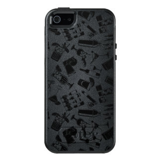 Black Pattern Cocktail Bar OtterBox iPhone 5/5s/SE Case