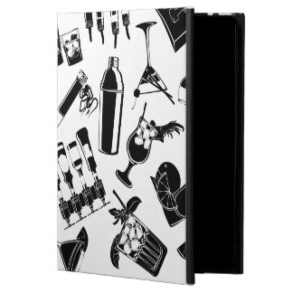 Black Pattern Cocktail Bar Powis iPad Air 2 Case