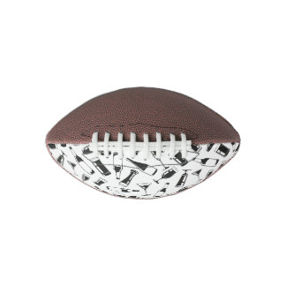 Black Pattern Drinks and Glasses Football