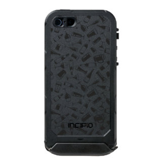 Black Pattern Drinks and Glasses Incipio ATLAS ID™ iPhone 5 Case