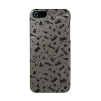 Black Pattern Drinks and Glasses Incipio Feather® Shine iPhone 5 Case