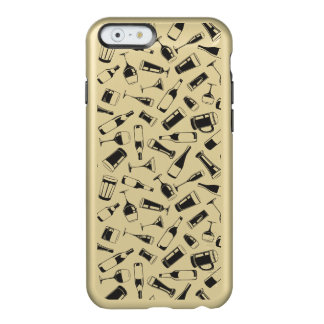 Black Pattern Drinks and Glasses Incipio Feather® Shine iPhone 6 Case
