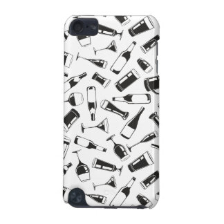 Black Pattern Drinks and Glasses iPod Touch 5G Cases