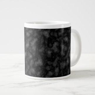Black Pattern Large Coffee Mug
