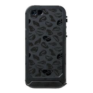Black Pattern Lips Incipio ATLAS ID™ iPhone 5 Case