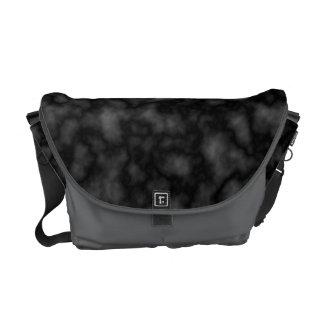 Black Pattern Commuter Bag