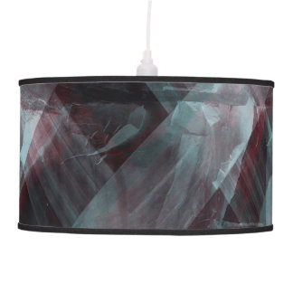 black pattern pendant lamp
