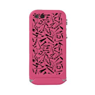 Black Pattern Tools Incipio ATLAS ID™ iPhone 5 Case