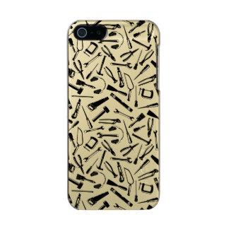 Black Pattern Tools Incipio Feather® Shine iPhone 5 Case