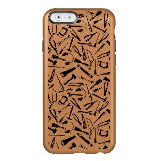 Black Pattern Tools Incipio Feather® Shine iPhone 6 Case