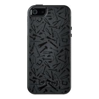 Black Pattern Tools OtterBox iPhone 5/5s/SE Case