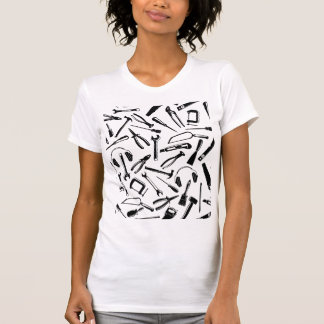 Black Pattern Tools T-Shirt