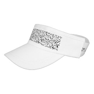 Black Pattern Tools Visor