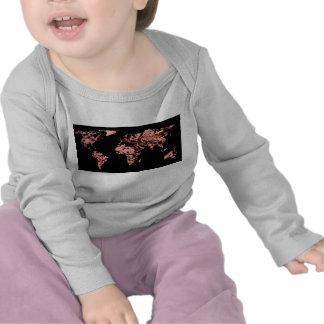 Black peach atlas tee shirt