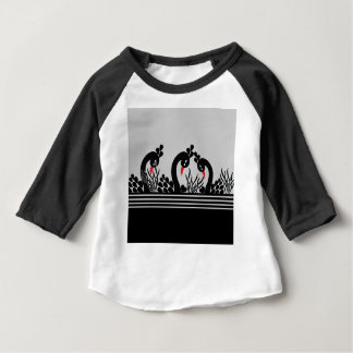 black peacock baby T-Shirt
