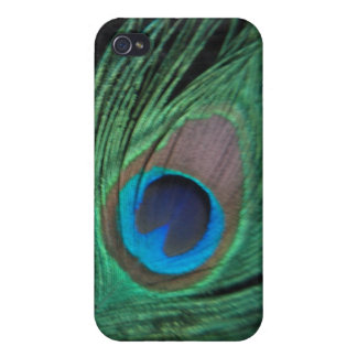 Black Peacock Feather i iPhone 4/4S Case