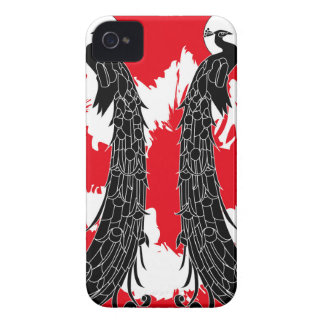 Black peacock iPhone 4 covers