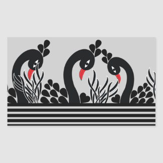 black peacock sticker