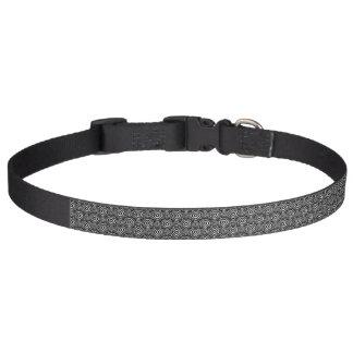 Black Peddler Pet Collar