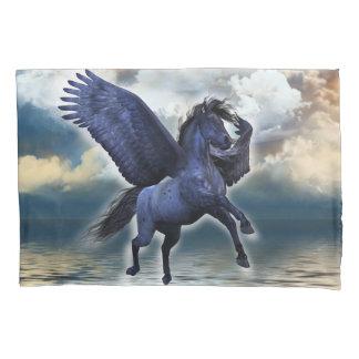 Black Pegasus (1 side) Pillowcase