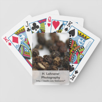 Black Pepper Bicycle Playing Cards