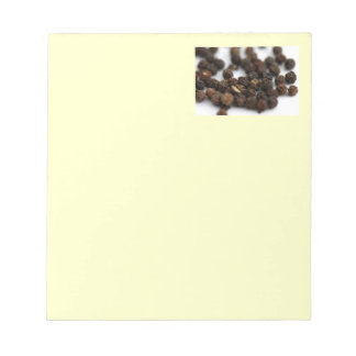 Black Pepper Notepad