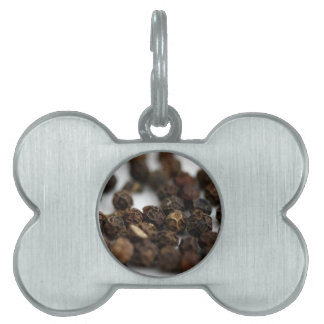 Black Pepper Pet Name Tag