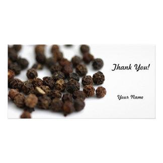 Black Pepper Photo Card