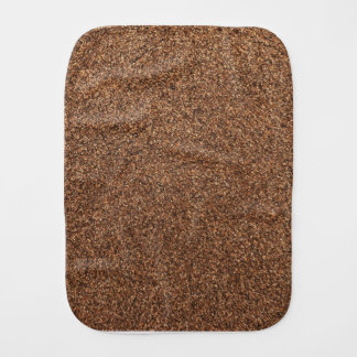 black pepper texture burp cloth