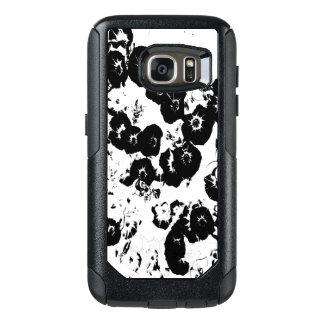 Black Petunias OtterBox Samsung Galaxy S7 Case