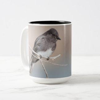 Black Phoebe Large Mug