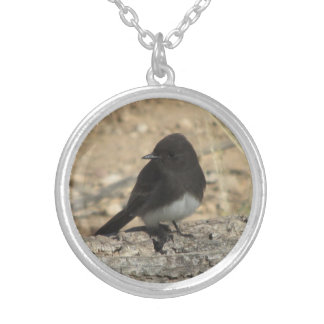 Black Phoebe Necklace