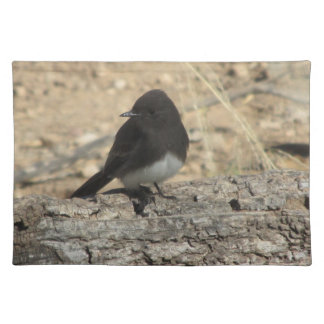 Black Phoebe Placemat