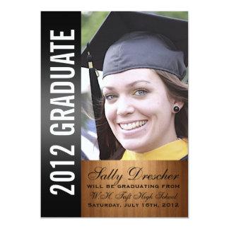 Black Photo 2012 Graduate Card