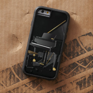 Black Piano Tough Xtreme iPhone 6 Case