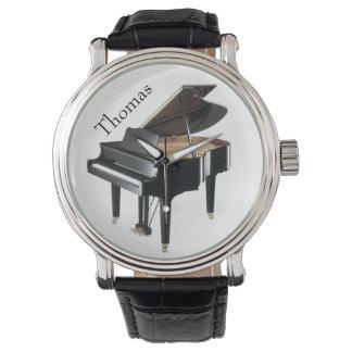 Black Piano Watch
