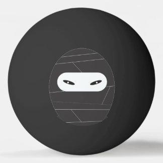 Black Ping Pong Ninja Balls