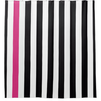 Black Pink And White Stripes